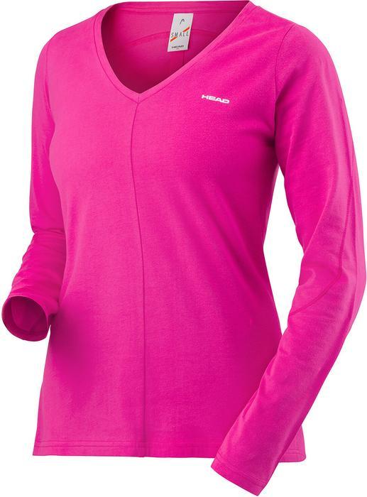 Head Transition LS Shirt W - pink 814597-MA