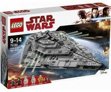 LEGO Star Wars Niszczyciel Gwiezdny Najwyższego Porządku 75190