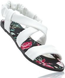 Bonprix Sandały biały