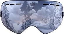 Traverse Sport virgata gogle narciarskie i snowboardowe do obiektywu rozmiar uniwersalny srebrny jeden rozmiar 2571
