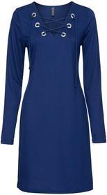 Bonprix Sukienka shirtowa kobaltowy