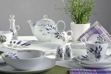 Lubiana Alice LAWENDA 5979 Serwis obiadowy i kawowy 40/6 5900245219128