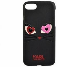 Karl Lagerfeld Etui hard do iPhone 7 KLHCP7CL2BK czarne BRA004922