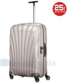 Samsonite Duża walizka COSMOLITE 73351 Perłowa - perłowy