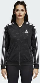 adidas Originals SUPERGIRL Bluza rozpinana black Ceny i opinie na Skapiec.pl