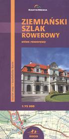 CartoMedia Ziemiański Szlak Rowerowy atlas 1:75 000 CartoMedia