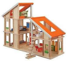 Plan Toys Domek dla lalek z mebelkami PLTO-7141 8854740071415