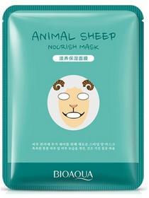 Bioaqua BIOAQUA ANIMAL SHEEP Nourish Mask Odżywcza maska do twarzy w formie płata 30g 0000051572