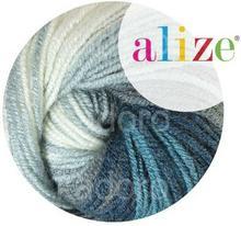 Włóczka ALIZE Superlana Klasik Batik 4240 - motek