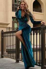 Sukienka BIANA PETROL 02002-146