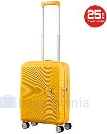 Samsonite AT by Mała walizka kabinowa AT SOUNDBOX 88472 Żółta - żółty