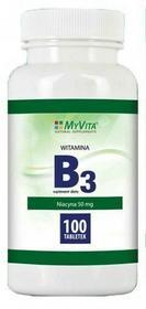 MyVita MYVITA WITAMINA B3 50MG 250TABL. M084
