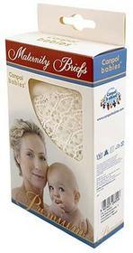 Canpol babies Babies Koronkowe Figi Wycięte pod Brzuchem dla Kobiet w Ciąży Ecru BABIES