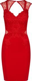 Lipsy Sukienka koktajlowa 'RED APP' LIP0237001000001
