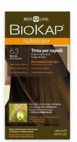 Bios Line S.P.A. BIOKAP NUTRICOLOR 6.3 Ciemny Złoty Blond 140 ml