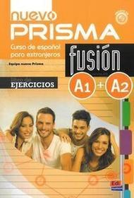 NOWELA Nuevo Prisma fusion A1+A2 Ćwiczenia + CD - Praca zbiorowa