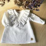 HEYHOLA Biała sukienka Julia idealna na chrzest