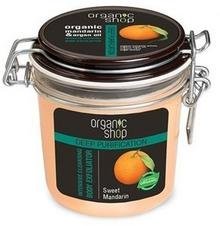 Organic Shop Deep Purification Organic Mandarin & Argan Oil Body Exfoliator oczyszczający peeling do ciała 350ml 40582-uniw