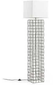 Brown LA FORMA Lampa Stojąca Doherti Metal Shade White Aa1431j33 165,0x45,0/Lampa AA1431J33