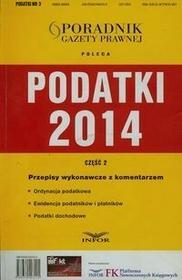Infor Podatki 2014 część 2 + CD - Infor