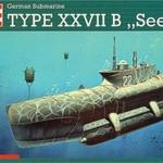 Revell Statek German Submar. T.XXVII 05125