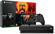 Microsoft Xbox One X 1TB + Shadow of the Tomb Raider + Red Dead Redemption II