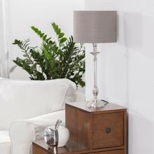 Dekoria Lampa stołowa Cleo wys 57cm 25x25x57cm 001-991