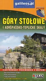 Plan Góry Stołowe i Adršpašsko-Teplické Skalý