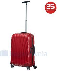 Samsonite Mała kabinowa walizka COSMOLITE 73349 Czerwona - czerwony