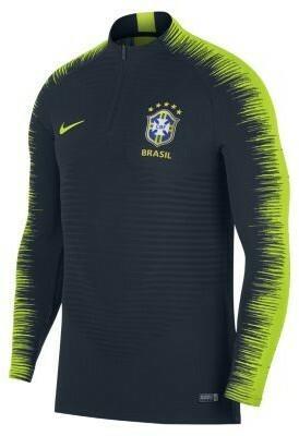 37bd089ed068b3 Nike Męska koszulka piłkarska z długim rękawem Brasil CBF VaporKnit Strike  Drill - Niebieski 893011-454 – ceny, dane techniczne, opinie na SKAPIEC.pl