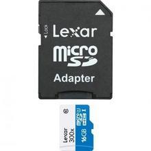 Lexar 300x 16GB + adapter