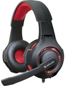 Defender WARHEAD G-450 czarno-czerwone