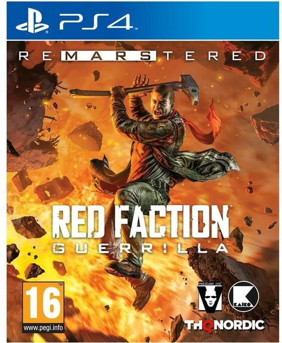 Red Faction: Guerrilla Re-Mars-tered Edition PS4