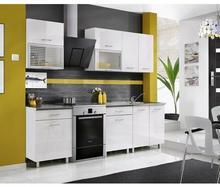 MEBLE OKMED Zestaw mebli kuchennych FIONA kolor Biały MEBLE OKMED