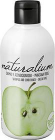 Naturalium Szampon z odżywką Zielone Jabłko 400 ml