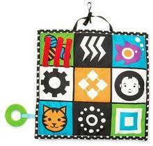 Manhattan Toy Zabawka dla niemowląt, Mata edukacyjna, 30,5x30,5x2,5 cm