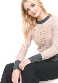 Pinko Patmos Sweater Różowy Szary XS (202747)