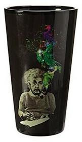Just Funky Alberta Einsteina Smoke kufel do piwa GLS-AE-SMOKE