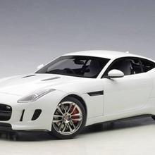 Autoart Jaguar F-Type R Coupe 2015 polaris white/gloss white composite model/full openings