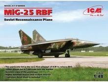 ICM Model plastikowy MiG-25 RBF Radziecki samolot rozpoznawczy DARMOWA DOSTAWA OD 199 ZŁ! GXP-643869