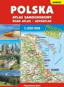 GAUSS Polska - atlas samochodowy (skala 1:500 000) - Opracowanie zbiorowe