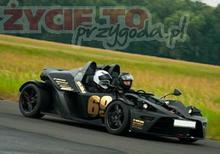 Jazda KTM X-Bow - Kamień Śląski (Opole)