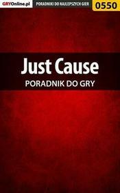 "Just Cause poradnik do gry Jacek ""Stranger"" Hałas EPUB)"