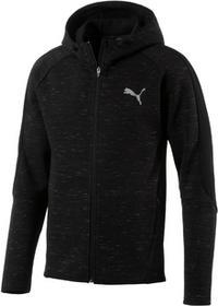 Puma bluza Evostripe SpaceKnit FZ Hdy Cotton Black XL