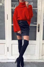 Sweter ANGELA RED 02002-698