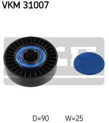 SKF rolka kierunkowa / prowadząca, pasek klinowy zębaty VKM 31007
