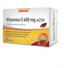 Walmark WALMARK WITAMINA C AKTIV 600 mg 30 tabl 8117911