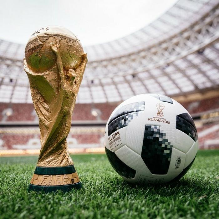 Adidas PIŁKA NOŻNA TELSTAR MŚ 2018 r.5 TOP +GRATIS TELSTAR