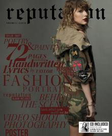 reputation Special Edition Magazines Volume 2) CD) Taylor Swift