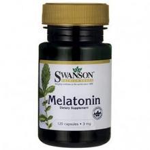 Swanson Melatonina 3mg 120kaps